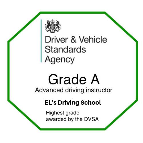 Grade A award EL's Driving School